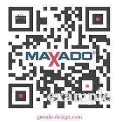 Maxado QR code design