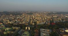 Aerial Old City Lviv, Ukraine. Central Part Of Old City. European City #Aerial, #Architecture, #European, #Exterior, #Historic, #House, #Inspire1, #Old, #Panorama, #Photo, #Sunny, #Tourist, #Tower, #Uflypro, #Ukraine, #View https://goo.gl/YbSiJO