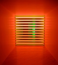 Dan Flavin (April 1, 1933, Jamaica, New York – November 29, 1996, Riverhead, New York) was an American minimalist artist famous for creating sculptural objects and installations from commercially available fluorescent light fixtures.