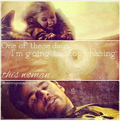 """""""One of these days I'm going to stop chasing this woman"""" haha loved it when Hook said that #CaptainSwan"""