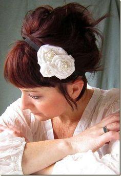 Hair Band Tutorial by Alisa Burke