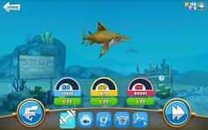 review game hungry shark world | jejeblog.net