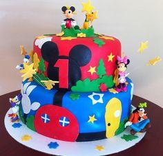 Disney Birthday Cake by Roscoe Bakery #cake