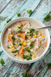 Creamy Chicken, Corn and Sweet Potato Chowder