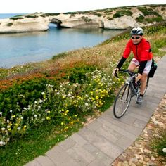 Incredible Bike Tours in Italy | Guided Italy Cycling Tours Cycling Tours, Italy Tours, Sardinia Italy, Corsica, Hotels And Resorts, Coastal, Scenery, The Incredibles, Bike