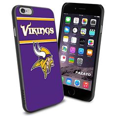 """Minnesota Vikings iPhone 6 4.7"""" Case Cover Protector for iPhone 6 TPU Rubber Case SHUMMA http://www.amazon.com/dp/B00T5L1NVK/ref=cm_sw_r_pi_dp_4Daewb0EBP64F"""