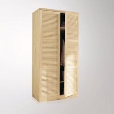 Armoire, pin massif, H205 cm, penderie, Mayor La Redoute Interieurs