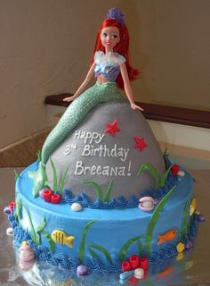 The Little Mermaid cake, jessica! You get this next year!