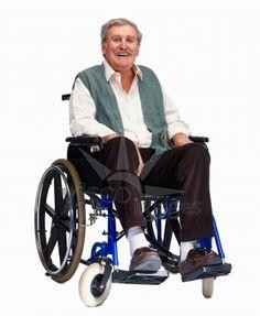 Man wheelchair