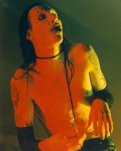 034-GOTH-ROCKER-034-MARILYN-MANSON-8x10-PHOTO