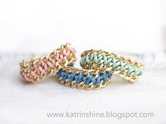 Katrinshine: Double Chain bracelet DIY