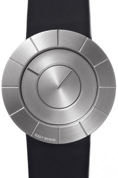 TO brushed steel by Issey Miyake #men #watches