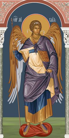 Gabriel, Orthodox Christianity, Religious Icons, Orthodox Icons, My Favorite Things, Movie Posters, Angels, Guardian Angels, Saints