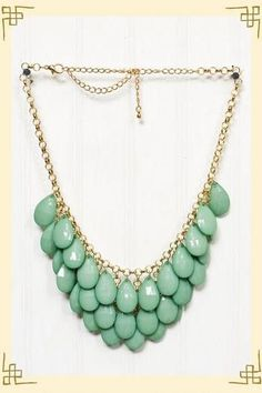 my style. / Dropping In Necklace in Green - Francesca's Collections on imgfave