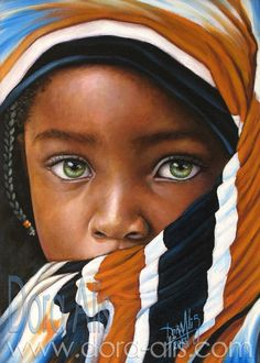 Nigerian artist creates reaic oil the new face of portrait painting the new face of portrait painting african portrait painting atAfrican Portraits PaintingsNigerian Artist Creates … Beautiful Children, Beautiful Babies, Beautiful People, Pretty Eyes, Cool Eyes, African Children, African Girl, African Women, Stunning Eyes