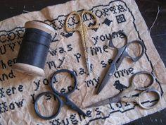 Scissors & thread