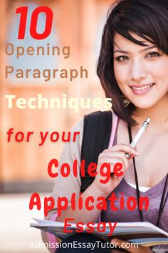 An opening paragraph is like the first impression you give or get when meeting someone new. It is undoubtedly one of the most important moments in your college application essay. Here you will learn how to write a great opening paragraph and a memorable application essay. #CollegeAdmissionsEssayExamples #GoodCollegeEssayExamples #HowtoWriteaCollegeEssay College Essay Examples, College Application Essay, High School Writing Prompts, Essay Writing Tips, Homeschool High School, Homeschooling, College Admission Essay, Meeting Someone New, College Planning
