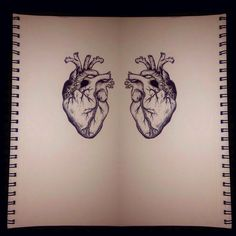 Realistic hearts are so beautiful