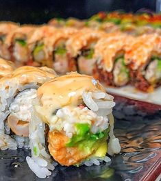 Cute Food, Good Food, Yummy Food, Sushi Catering, Healthy Snacks, Healthy Recipes, Sushi Recipes, Edible Food, Food Obsession