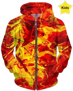 Magical Baby: Flash Firestorm Kids Hoodie-Which one is your favo...