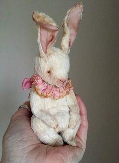 PDF PATTERN for viscose Easter Bunny By Katya Art Dolls - Bear Pile