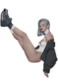 Kai Fine Art is an art website, shows painting and illustration works all over the world. Female Character Design, Character Design Inspiration, Character Concept, Character Art, Concept Art, Character Illustration, Illustration Art, Poses, Sci Fi Characters