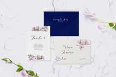 partecipazioni orchidee * grafica coordinata elegante e fresca a tema floreale, delicata e dallo stule giapponese. Place Cards, Place Card Holders, Chic