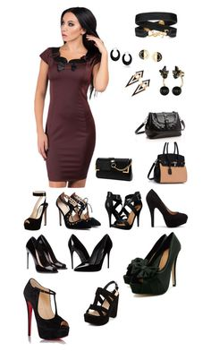 """""""Office style"""" by daily-queen ❤ liked on Polyvore featuring Prada, Michael Antonio, Dolce&Gabbana, Christian Louboutin, New Look, Pandabada, Yves Saint Laurent, Bling Jewelry, Chanel and Kate Spade"""