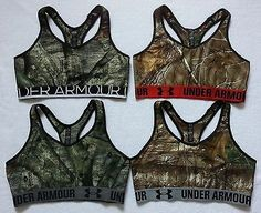 *NEW Under Armour Women Camo Sports Bra Top Gym Fitness Yoga Size XS S M L XL:
