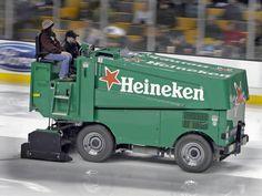 Heineken  Ice cold Ice Hockey