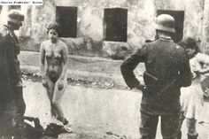 Nazi abuse of Jewish women and young girls in ghettos and towns