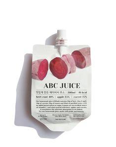 Pouch Packaging, Juice Packaging, Beverage Packaging, Cosmetic Packaging, Juice Branding, Food Branding, Food Poster Design, Food Design, Abc Juice