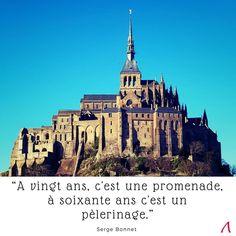 Le Mont Saint-Michel. Citation.