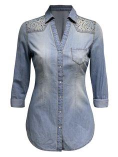 #janenorman #sale #Denimshirt #fashion
