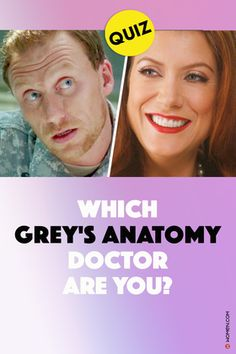 Grey's Anatomy Quiz, Grey's Anatomy Doctors, Greys Anatomy Funny, Jackson Avery, Quizzes For Fun, Meredith Grey, Quizes, Best Series, School Hacks