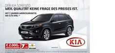 KIA Sorento Deal - Click on the Image to Find Out More!