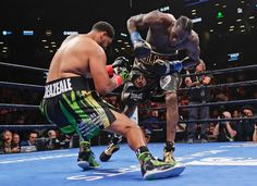 Wilder sent Breazeale spinning after a clean right hand to the jaw - Cbs Sports, Sports News, Bronze Bomber, Boxing Images, Deontay Wilder, Ready To Rumble, Tyson Fury, Human Poses, Boxing News