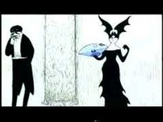 Gorey's animated intro for the PBS show Mystery!, 1980