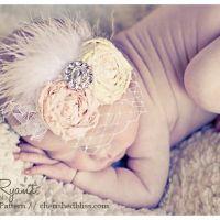 Vintage Inspired Baby Headband Tutorial - Cherished Bliss