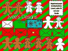 Christmas Gingerbread People- Stamps - EnvelopesThis Bundle consists of two versions of Gingerbread people I am including 8 different color version of the envelopes All images have line art and white fill images Total of 46 images . Transparent pngs. *all images are not show in preview. You can follow me on Instagram @iveesdesigns for more pictures