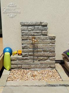 立水栓 石積み