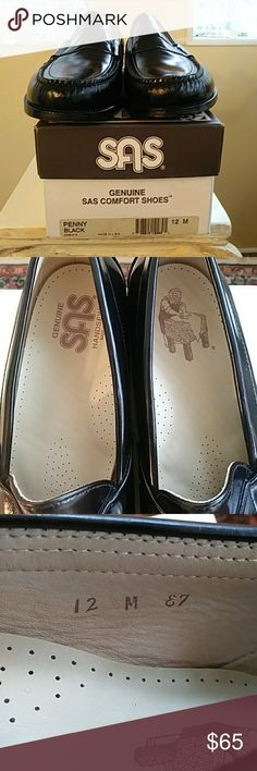 3f5aa79e24462d SAS men s penny loafers Black penny loader. All leather. Very good  condition. Small