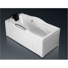 Cada dreptunghiulara de baie, cu sistem de hidromasaj, de la producatorul West, model Daniela disponibila cu dimensiuni de 170x78cm, fabricata din acril 100%, culoare alb. Westies, Bathtub, Bathroom, Model, Standing Bath, Washroom, Bathtubs, Bath Tube