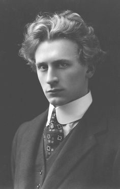Australian/American composer and pianist Percy Grainger (1882-1961). He worked on reviving popular interest in British folk music.