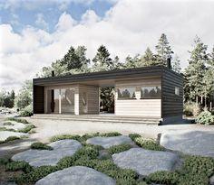 wooden sauna WM 25D Container House Plans, Container House Design, Container Homes, Nordic Design, Modern Design, Las Vegas Homes, Cottage Plan, House Blueprints, House In The Woods