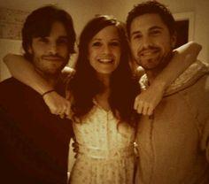 such a cute picture <3 Killian (Daniel Di Tommaso), Ingrid (Rachel Boston), and Dash (Eric Winter)
