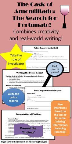 The Cask of Amontillado essay questions? PLEASE HELP! ASAP!?