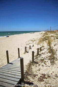 Praia de Faro - Portugal. One of the most beautiful beaches in the world