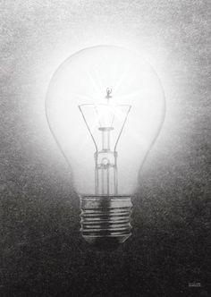 Elektricitet - Poster 30x42cm - Lina Johansson