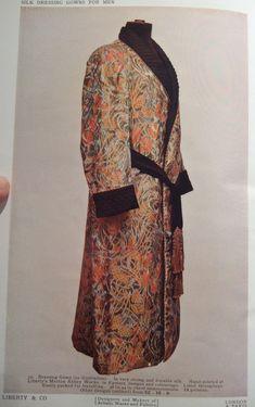 Silk dressing gowns for men
